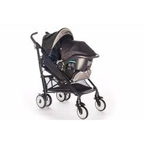 Cochecito Bebe Travel System Joie Brisk Greystone Infanti