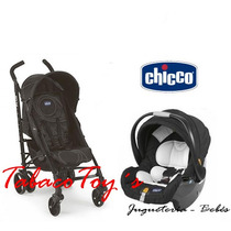 Chicco Liteway Plus Paraguitas + Huevito Tabacotoy