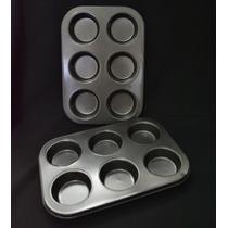 Moldes Cupcakes Teflon
