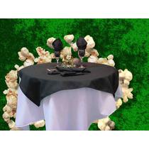 Mantel Circular Con Cubre Mantel Y Servilletas