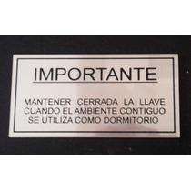 Chapa Litografiada Gas, L, Hacemos Envios A Todo El Pais!!!!