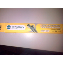 Flexible Gas Acero Inox. Aprobado 1/2 X20a42cm Extensible.