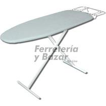Combo Tabla Planchar Malla Metal Chica Tender Ropa Alas 8v