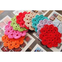 Posavasos Crochet - Qué Bonito... En Tu Mesa!