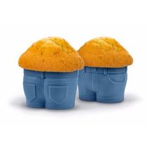 Molde Muffin Cupcake Short Silicona - Magenta Regalo Origina