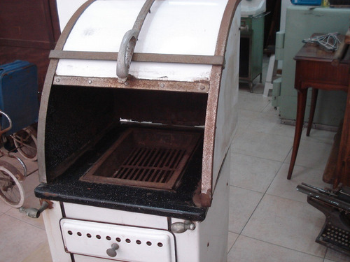 horno lena cocina: