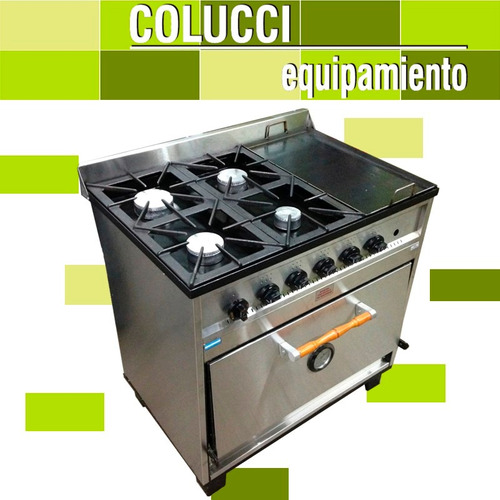 Cocina industrial doble horno for Ofertas de hornos de cocina