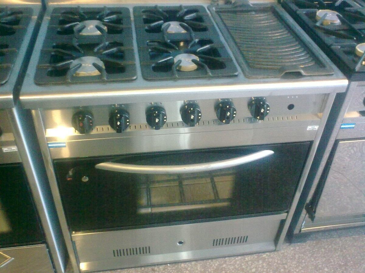 Cocina Industrial Hornallas Y Plancha - Hornos y Cocinas