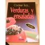 Libro Cocina Cocinar Hoy Verduras Ensaladas Itos Vazquez