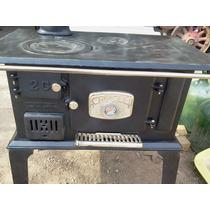 Cocina Carelli N°2 A Leña Nueva 150kg De Fundicion