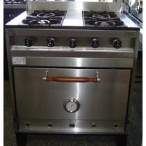 Oferta!!! Cocina Industrial 0.80 Cm Acero Inox