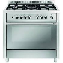 Cocina Glem 90 Cms Mixta Gas +horno Electrico-cocinasonline-