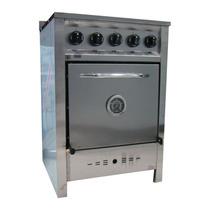 Cocina Industrial Gastroequip 4 Horn Acero 58 Cm Beiro Hogar