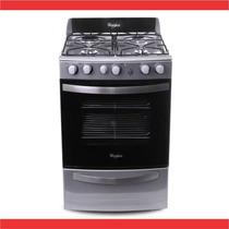 Cocina Whirlpool 56cm Grill Acero Inox. Wfx56dg