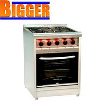 Cocina Industrial 60cm Morelli Quemador Estrella Visor