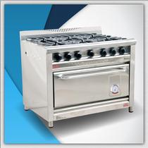Cocina Morelli 1100 Tapa Ciega Reja Fundicion 6 Hornallas