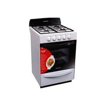 Cocina Aurora Drean Argenta 2 Multigas Autolimp 56cm Blanca
