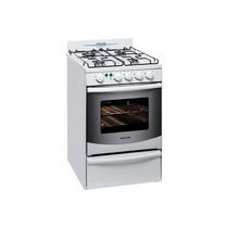 Cocina Volcan 88643v Autolimpiante Luz Encendido 55cm Blanca
