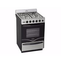 Cocina Multigas Florencia 5438 Acero Autolimpiante Encendido