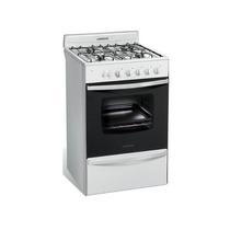 Cocina A Gas Longvie 13331bf 56cm Blanca Autolimpiante