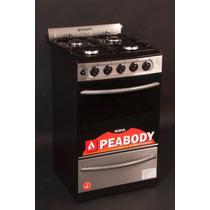 Cocina Acero Inoxidable Peabody Multigas Easy Clean Nuevas!