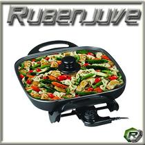 Multicocina Electrica Winco W-54 Sarten Grill Parrilla 1500w