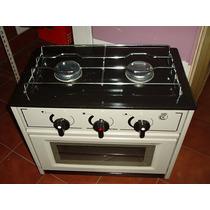 Cocina Dos Hornallas Con Horno Nuevas Para Gas Envasado