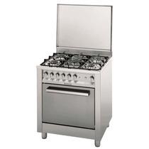 Cocina Ariston A Gas- Ancho 70 Cm - 5 Hornallas - Spiedo