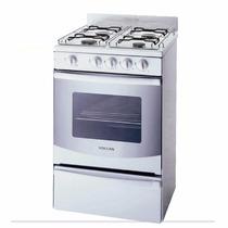 Cocina Volcan 88644v 55 Cm Multigas Autolimpiante Blanca