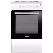 Cocina Electrica Atma Cce3110b 50cms Blanca 4 Hornallas