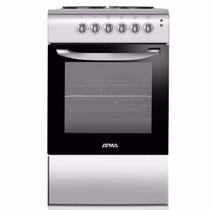 Cocina Electrica Atma Cce3110p Anafe 4 Placas Grill Luz 50cm