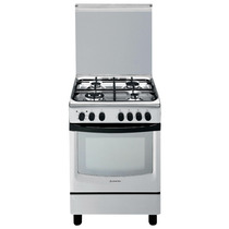 Cocina Ariston Cx 650s P1 X 60cm Acero Inox Horno Electrico