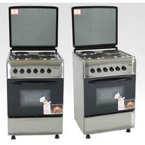 Cocina Electrica Tapa Superior Y Puerta Visor - 4 Hornallas