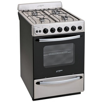 Cocina Eslabon De Lujo Efm56ai Acero 56cm Encendido Timer
