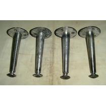 Juego De 4 Patitas De Aluminio Para Distintos Usos