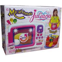 Juliana Microondas Con Luz Y Accesorios Oferta