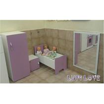 Rincon De Dormitorio Jardin Juego Infantil Cocina Juguete