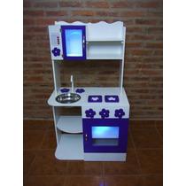Cocina Infantil De Juguete Madera Cocinita Casitas Muebles