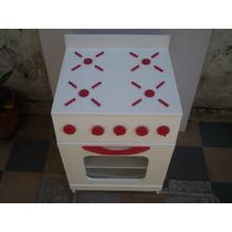 Muebles De Cocina Para Nenas, Artesanales, De Madera