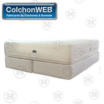 Colchon Y Sommier Bedtime Alive 150x190 Envío Gratis