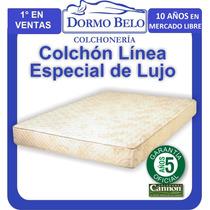 Oferta! Colchon Cannon Especial De Lujo Densid Media 1plaza