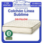 Oferta! Colchon Cannon Sublime 160x2m Resortes Individuales