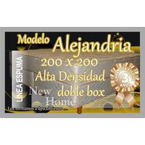 Juego De Sommier 200x200 Alta Densidad - Directo De Fabrica