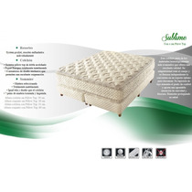 Colchon Sublime Pillow Resorte Individual 160 X 200 Queen