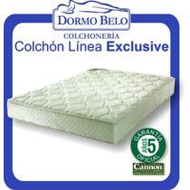 Oferta! Colchon Cannon Exclusive Alta Densidad 1plaza 80x190