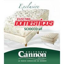 Colchón Cannon Exclusive 2p 1.40 X 1.90 Lanus