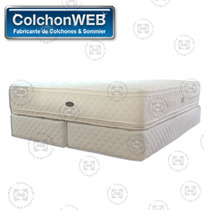 Colchon Y Sommier Bedtime Alive 140x190 Envío Gratis