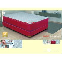 Colchon 2 Plazas Resortes Con Pillow