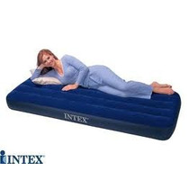 Colchon 1 Plaza Intex + Inflador De Regalo Intex!!!