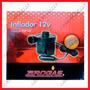 Broksol - Inflador Eléctrico 12v Para Bote Colchon Inflables